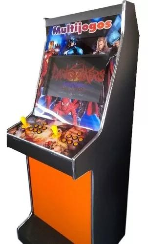 Máquina multijogos 19 arcade fliperama 2070 jogos sob encom