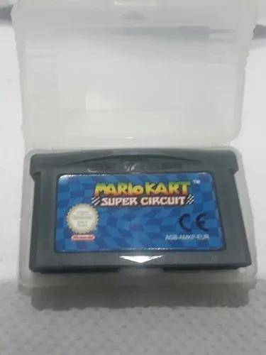 Mário kart super circuit gba (game boy advance)