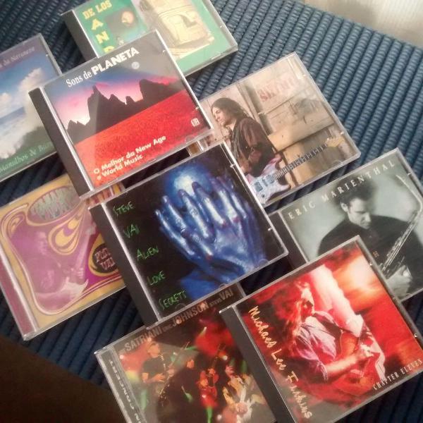 Música instrumental - 9 cds