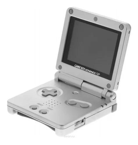 Usado console game boy advance sp prata - nintendo