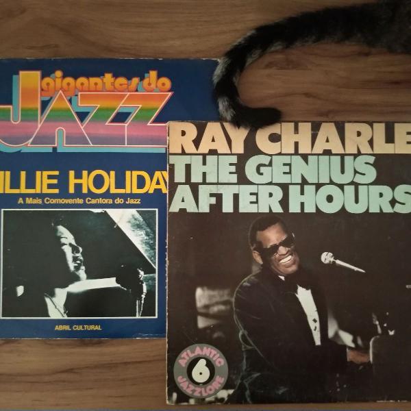 All that jazz! vinil lp billie holiday e ray charles + dois