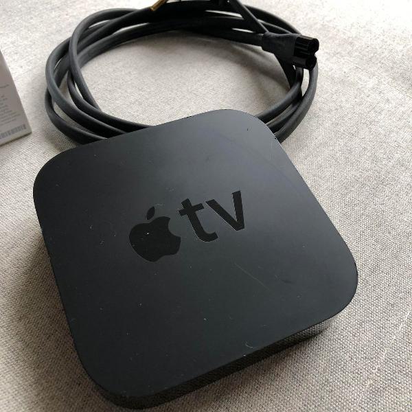 Apple tv 2ª geração na caixa completa