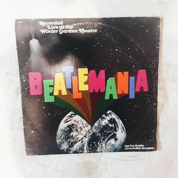 Beatlemania beatles disco de vinil long play lp orquestra