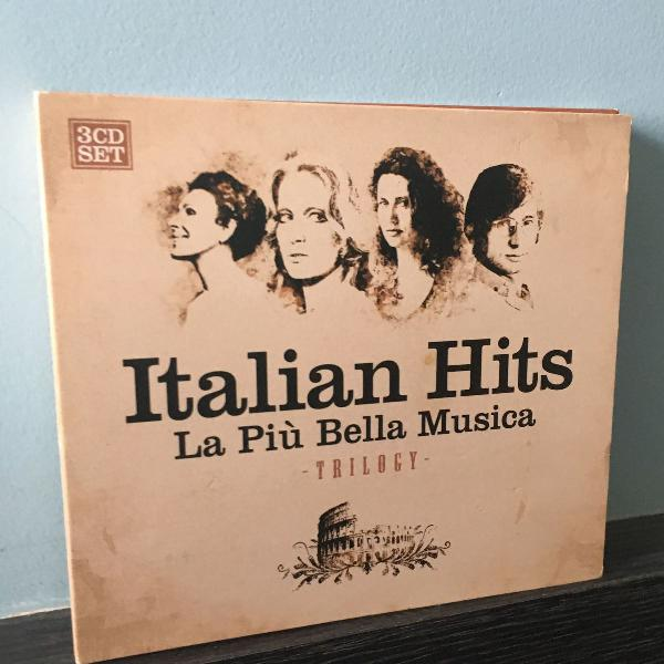 Box cd italian hits