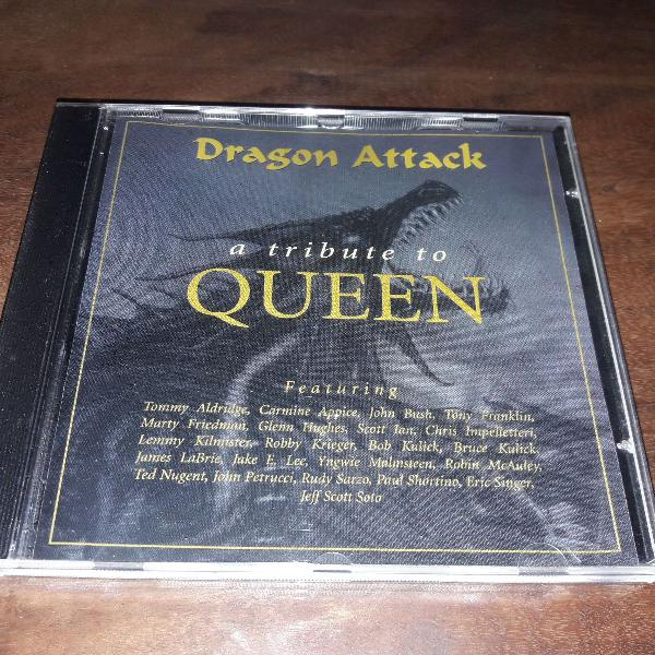 """Cd """"dragon attack: a tribute to queen"""" (1997)"""