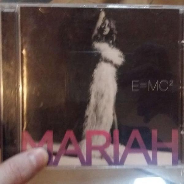 Cd físico álbum e=mc² por mariah carey