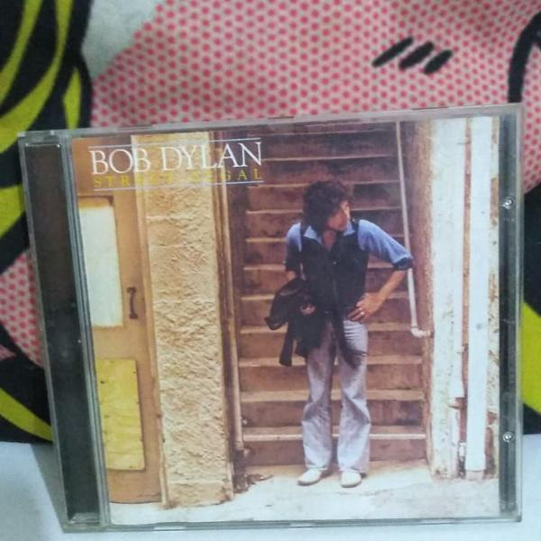 Cd importado europeu street legal - bob dylan