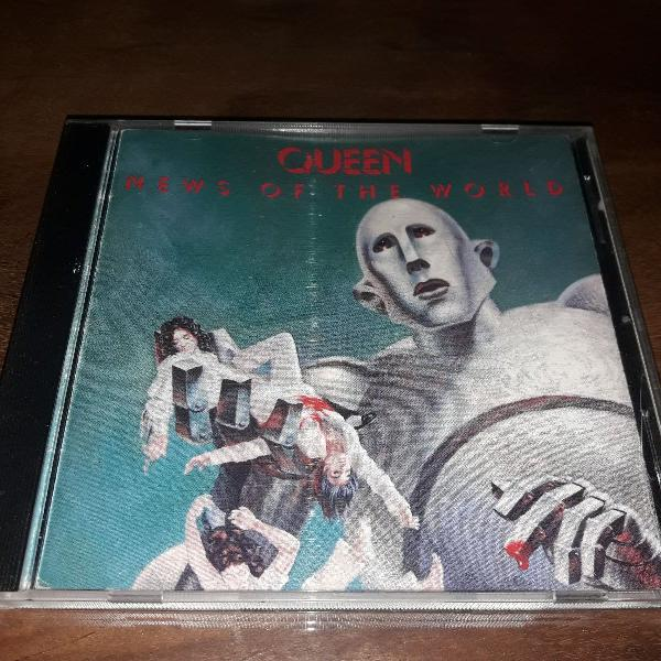 """Cd queen - """"news of the world"""" (1977)"""