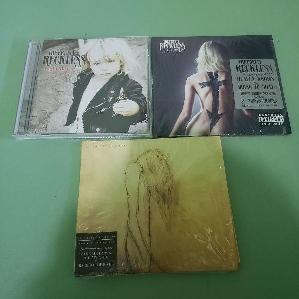 Combo 3 cds the pretty reckless