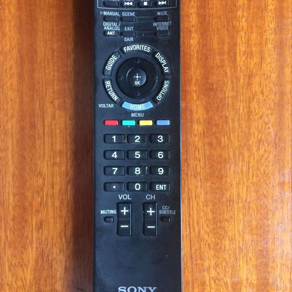 Controle original tv sony