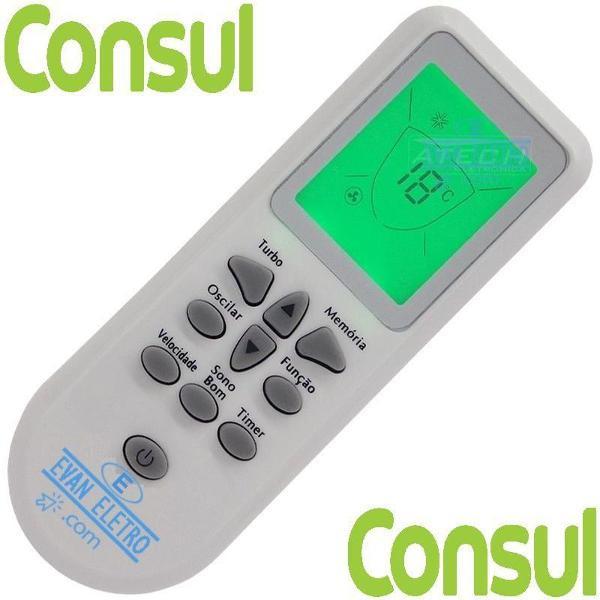 controle remoto ar condicionado consul cb905ac / cbv09 /