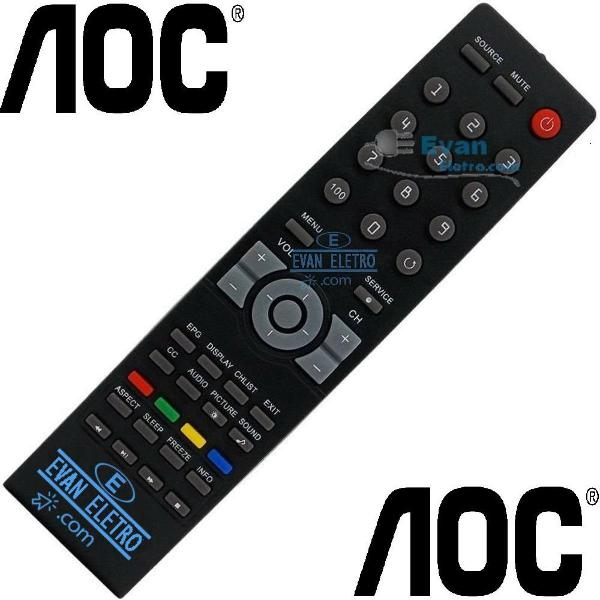 Controle remoto tv lcd / led le32h057d / le42h057d /