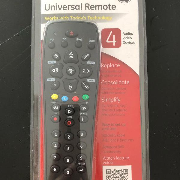 Controle remoto universal ge