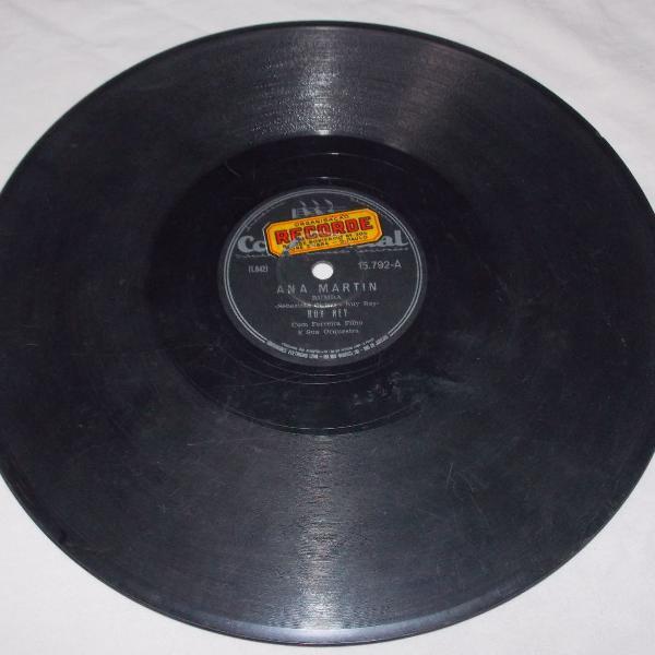 Disco 78 rpm ruy rey tus ojos ana martin
