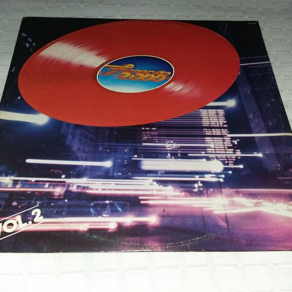 Disco de vinil furacão 2000 vol.2 - internacional.
