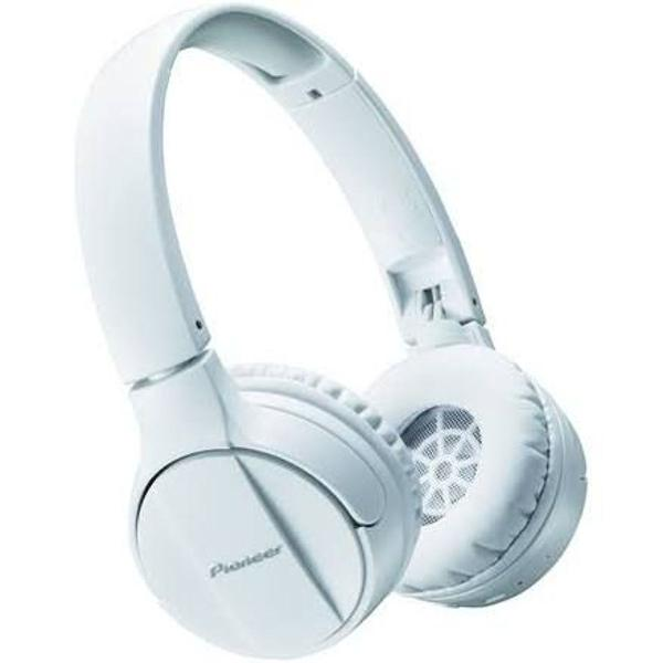 Fone de ouvido pioneer se-mj553bt-w bluetooth branco