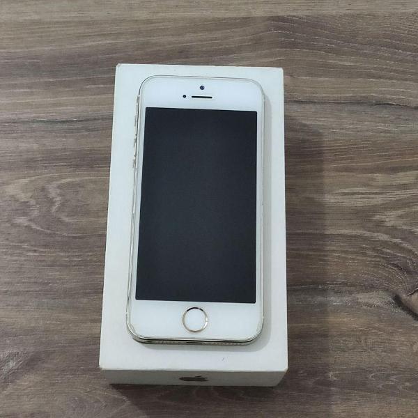 Iphone 5s 32gb + capinha branca