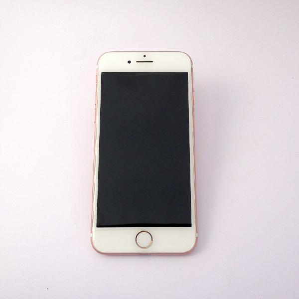 Iphone 7 128gb rosa desbloqueado original excelente estado