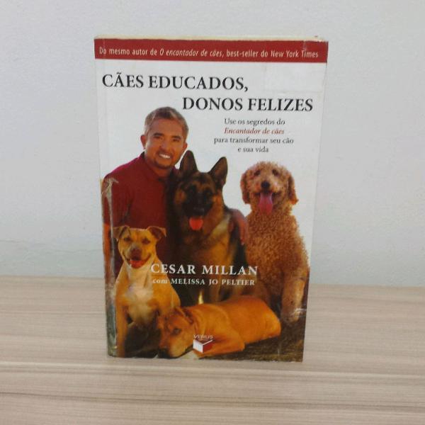 Livro cães educados, donos felizes