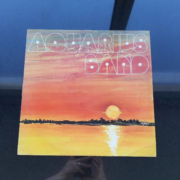 Lp disco vinil aquarius band por do sol