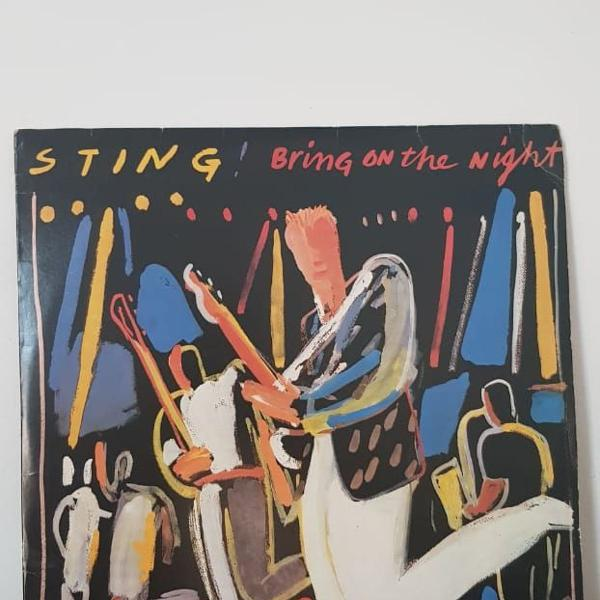 Lp disco vinil duplo bring on the night - sting