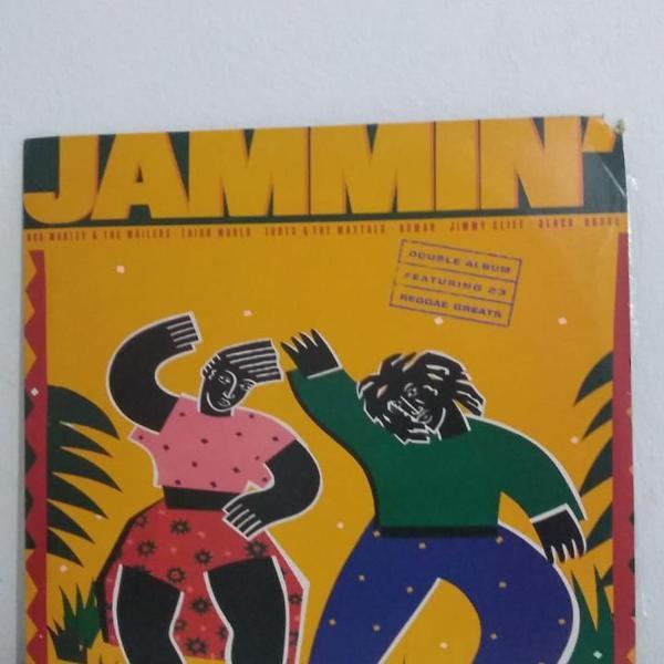 Lp disco vinil duplo jammin' coletânea de reggae