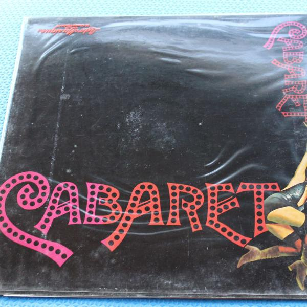 Lp vinil com a trilha sonora original do filme cabaret