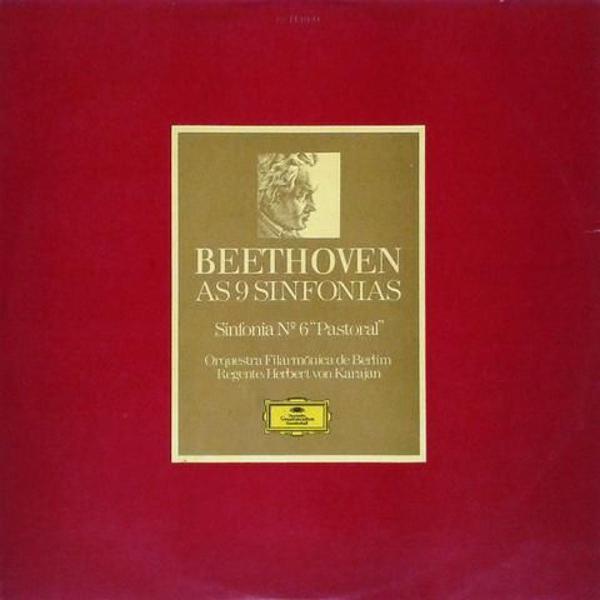 Lp vinil de ludwig van beethoven - as nove sinfonias -