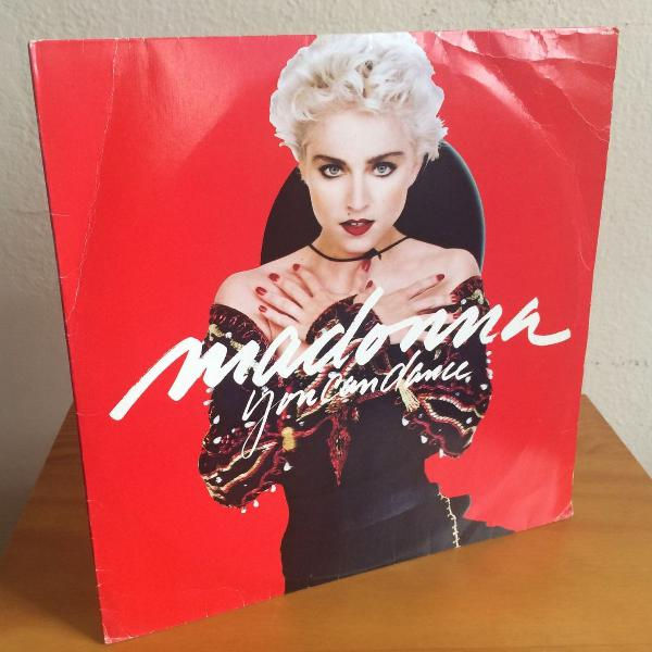 "Madonna you can dance lp 12"" vinyl made in brazil 1st"