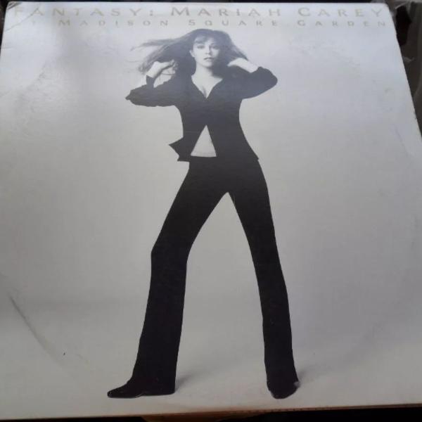 Mariah carey - fantasy madison square garden laserdisc ld