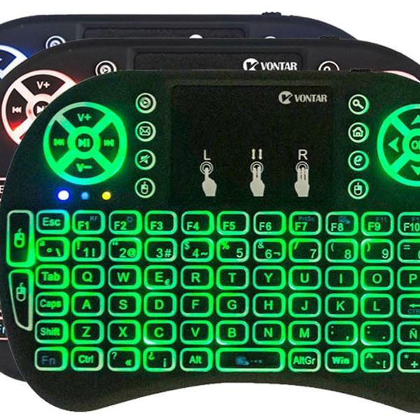 Mini teclado wireless touch pad celular pc, android tv smart