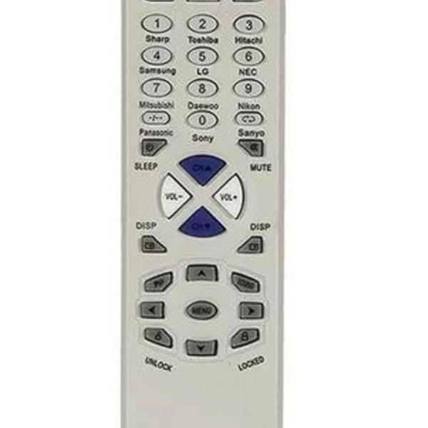 Muda o canal! controle universal tv de tubo led plasma lcd