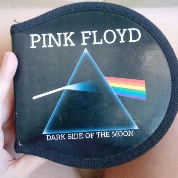 Porta cds merch original pink floyd
