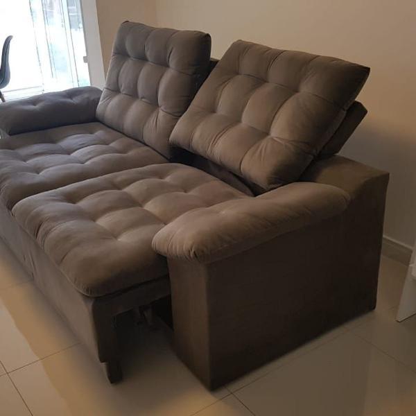 Sofá semi-novo