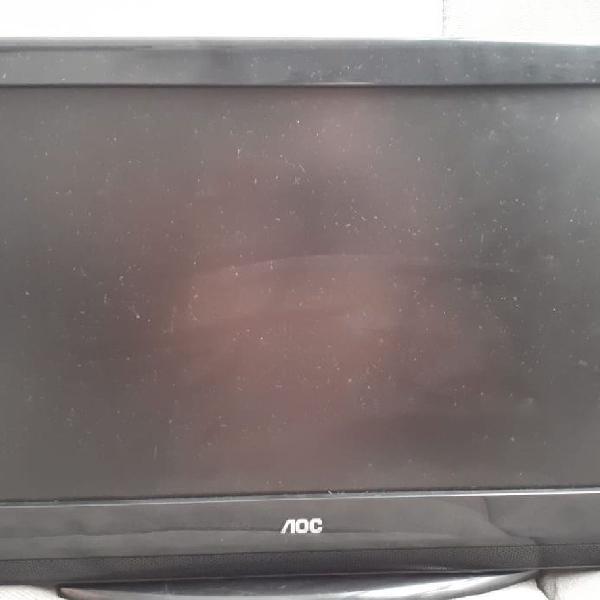 Tv lcd aoc l19w831 modelo: l19w831 produtor: aoc tecnologia: