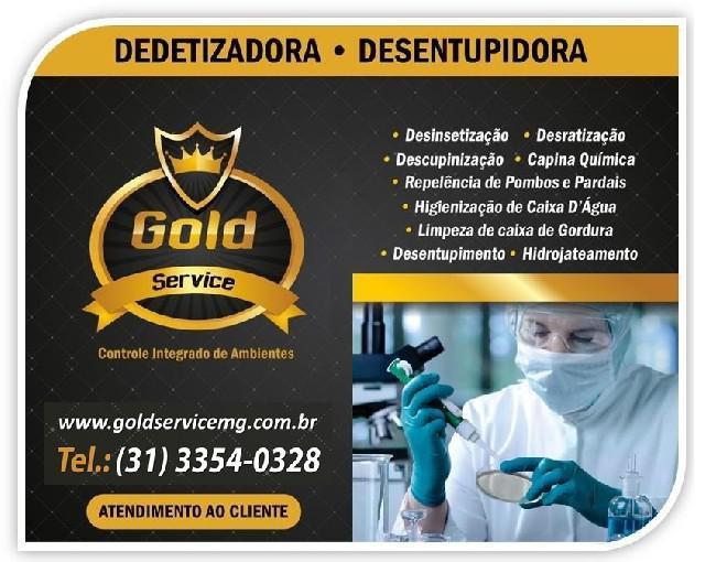Dedetizadora gold service