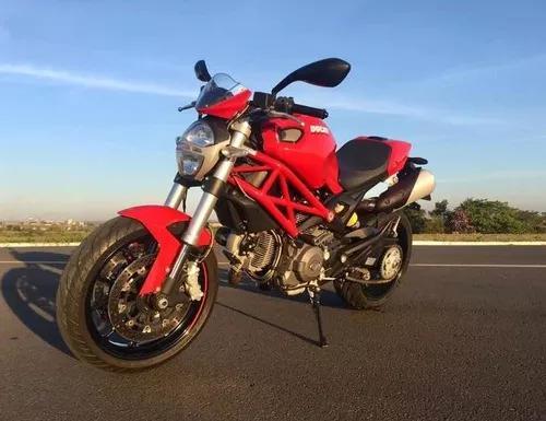 Ducati monster 796 2013 recém revisada+relação+pneus