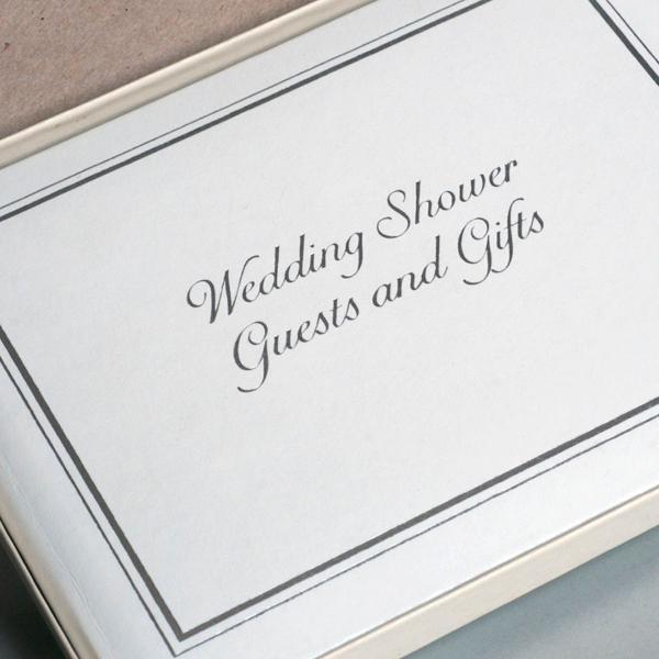 Livro de convidados e presentes de casamento
