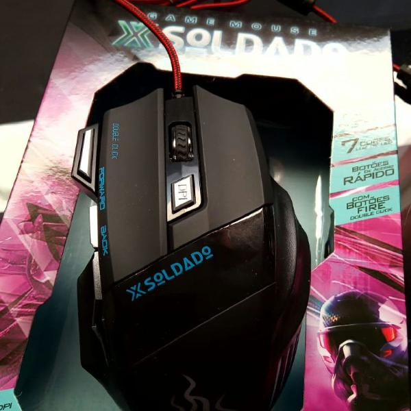 Mouse gamer xsoldado