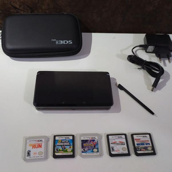 Nintendo 3ds + jogos originais em 3d