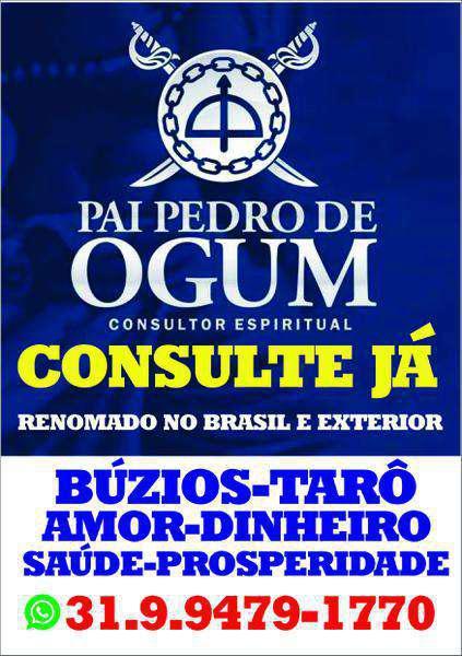 Pai pedro de ogum - consultor espiritual