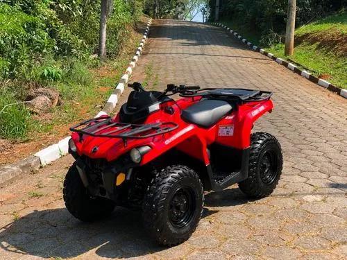 Quadriciclo can am 570 4x4 automático (igual a okm)