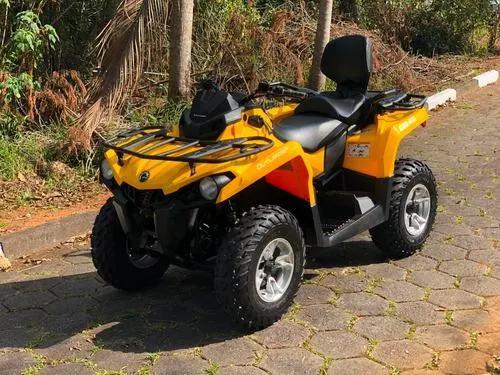 Quadriciclo can am 570 max 4x4 automático (direção