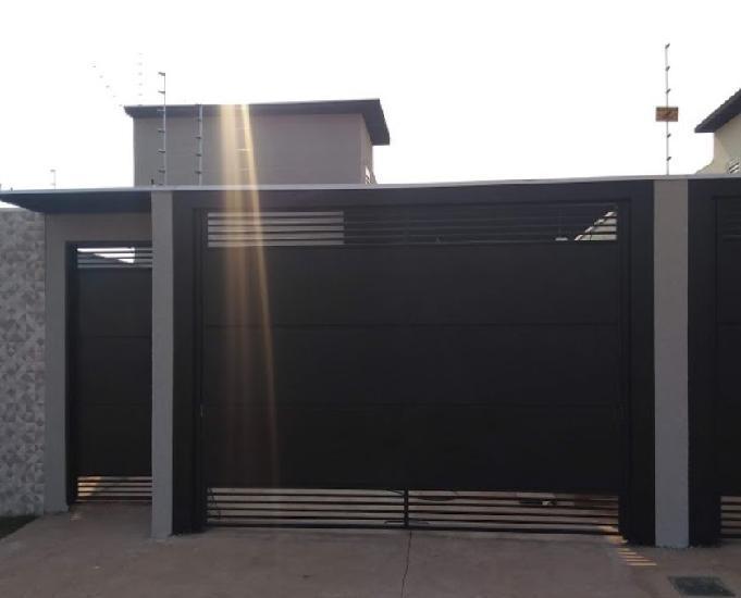 Vendo casa nova b. nova lima c. grande ms r$ 210.000,00