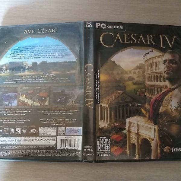 Caesar iv - cesar 4º pc cd rom jogo para pc