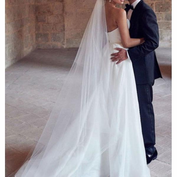 Mantilha véu de noiva 4,5 metros