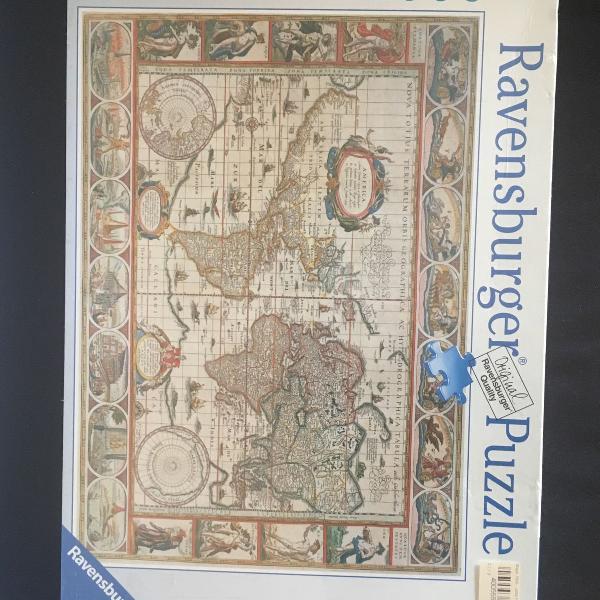 Puzzle mapa quebra-cabeças 2000 peças