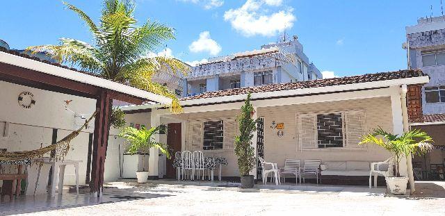 Casa temporada praia do morro guarapari com 7 quartos, tv e