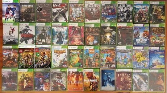 Jogos originais xbox 360 e playstation 3 a partir de r