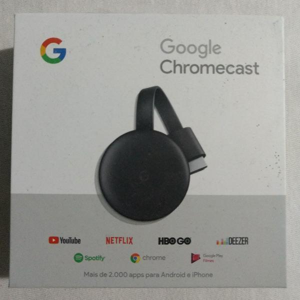 Chromecast 3. versão 2019
